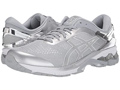 ASICS GEL-Kayano(r) 26 (Peidmont Grey/Silver) Men