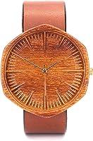 Orologio in legno per uomini, Movimento Svizzero Quarts, Regalo di tipo Premium, Prodotti ecologici, Orologio inciso,...