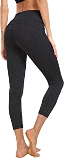QUEENIEKE Women 22 Inches Yoga Capris Power Flex Running Pants Workout Leggings 60128
