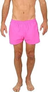 UZZI Men's Basic Swim Shorts Swimwear Trunks
