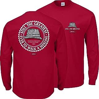 Smack Apparel Alabama Football Fans. Bear Hat Crimson T-Shirt (Sm-5X)