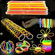 543 Pack, 250 Varitas Luminosas, Glow Sticks, 293 Conectores - Pulseras, Collares, Gafas, Bolas Luminosas, Flores - Seguro y No Tóxico| Niños, Cumpleaños, Fiestas de Neón, Decoracion, Piñatas.