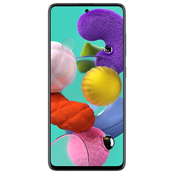 Samsung Galaxy A51 (Black, 6GB RAM, 128GB Storage) Without Offer