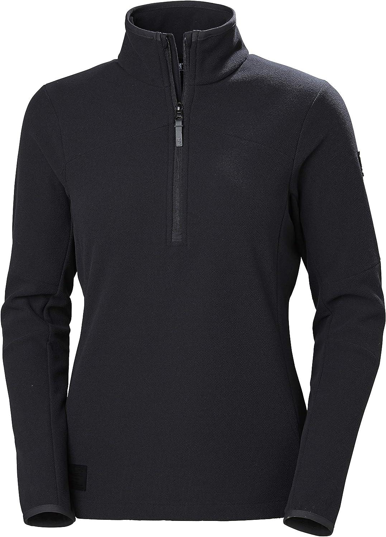 Helly-Hansen Women's Vanir 1 2 品質検査済 Zip Large Jacket 正規認証品 新規格 Fleece Black