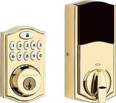 Kwikset 914TRL ZB 3.0 L03 Electronic Deadbolt, Polished Brass