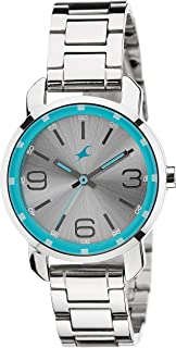 Fastrack Analog Silver Dial Women's Watch NM6111SM01 / NL6111SM01