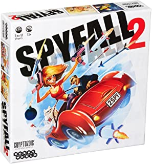 Mixed Current Edition Spyfall 2 Board Game