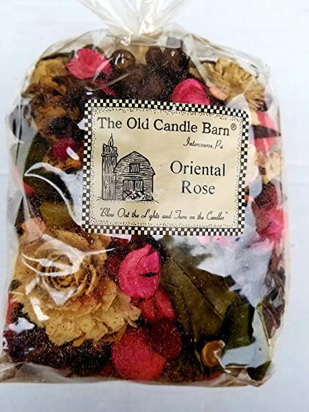 Old Candle Barn Oriental Rose Potpourri Large Bag Perfect For Spring Summer Fall And Winter Decoration Or Bowl Filler
