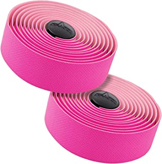 MARQUE Tacky Bike Handlebar Tape – Road Cycling Bicycle Padded Handle Bar Wrap with Non-Slip Grip for Drop Bars – 2PCS per Set