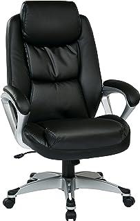Work Smart Executive Chair, Black