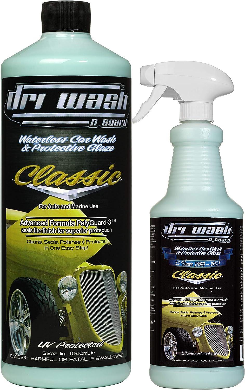 Dri Wash 'n All items free shipping Guard Classic 48oz Waterless w 32oz Car security Refill