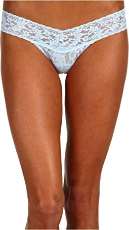 """Bride"" Low Rise Bridal Thong"