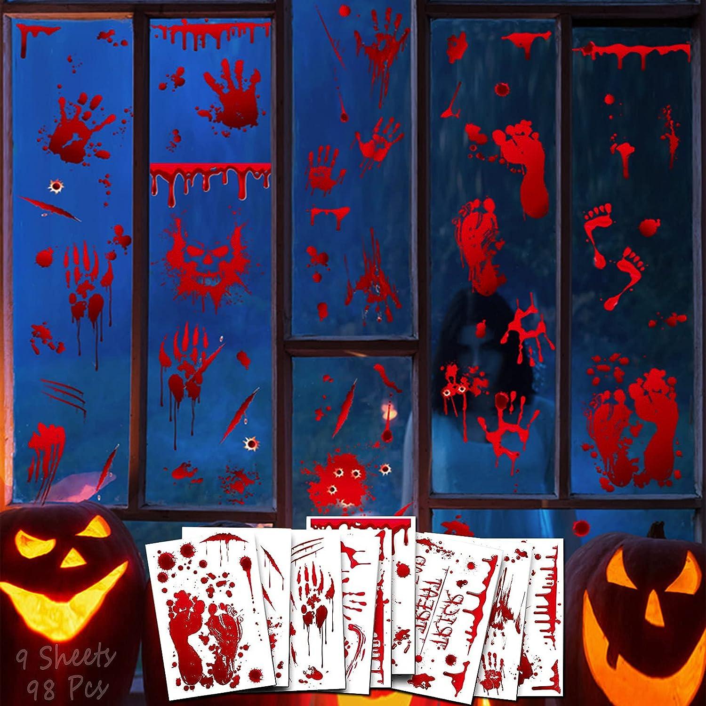 Pegatinas decorativas para #Halloween por sólo 6,49€ con el #código: 5SM5RHMV
