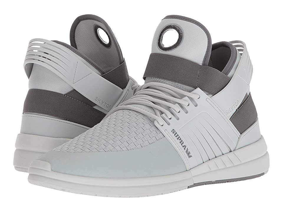 Supra Skytop V (Cool Grey/Bone) Men