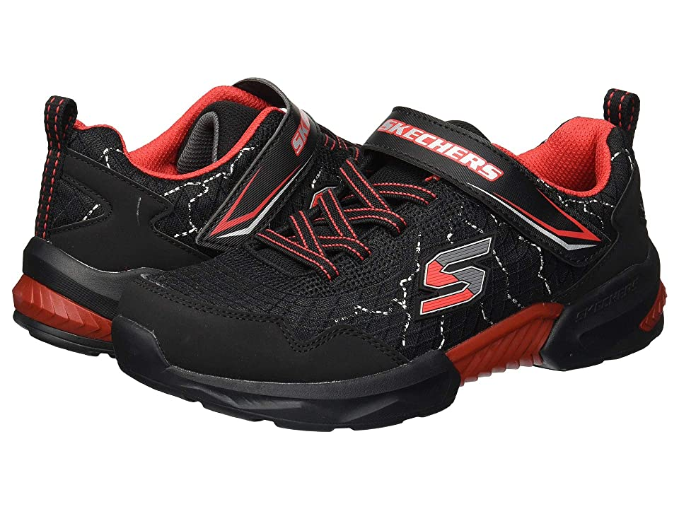 SKECHERS KIDS Techtronix 97841L (Little Kid/Big Kid) (Black/Red) Boy