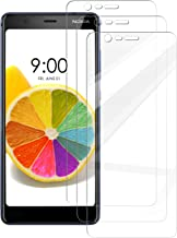 [3 Pack] INGLE Compatible with Nokia 5.1 / Nokia 5 2018 Screen Protector, 9H Hardness Bubble Free Tempered Glass with Lifetime Replacement Warranty