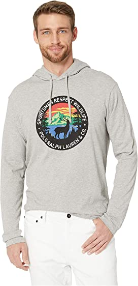 8e3b06367 Polo Ralph Lauren. Long Sleeve Hooded Tee. $49.50MSRP: $55.00. 26/1 Jersey  Long Sleeve T-Shirt Hoodie