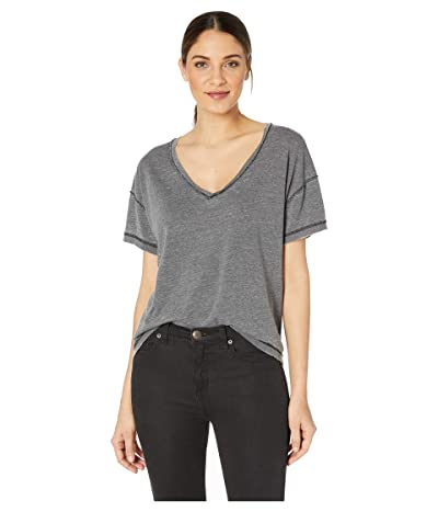 Free People All Mine Tee (Black) Women