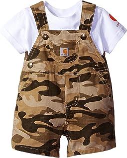 Carhartt Kids - Two-Piece Shortall Set (Infant)