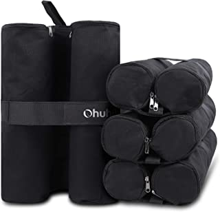 Ohuhu Canopy Weight Bags for Pop up Canopy Tent, Sand Bags for Instant Outdoor Sun..