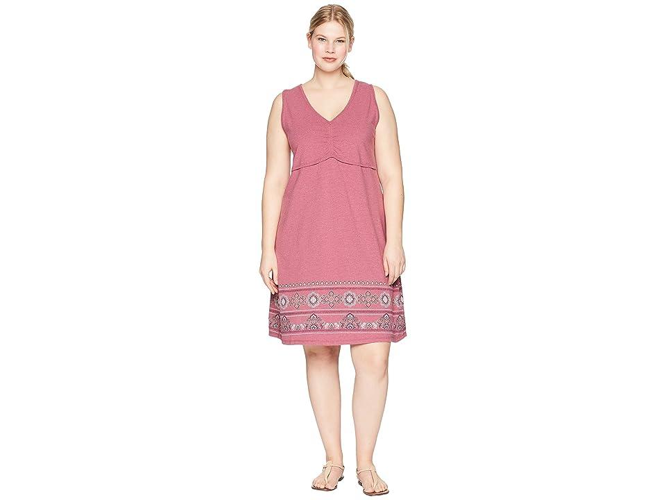 Aventura Clothing Plus Size Amberley Dress (Violet Quartz) Women