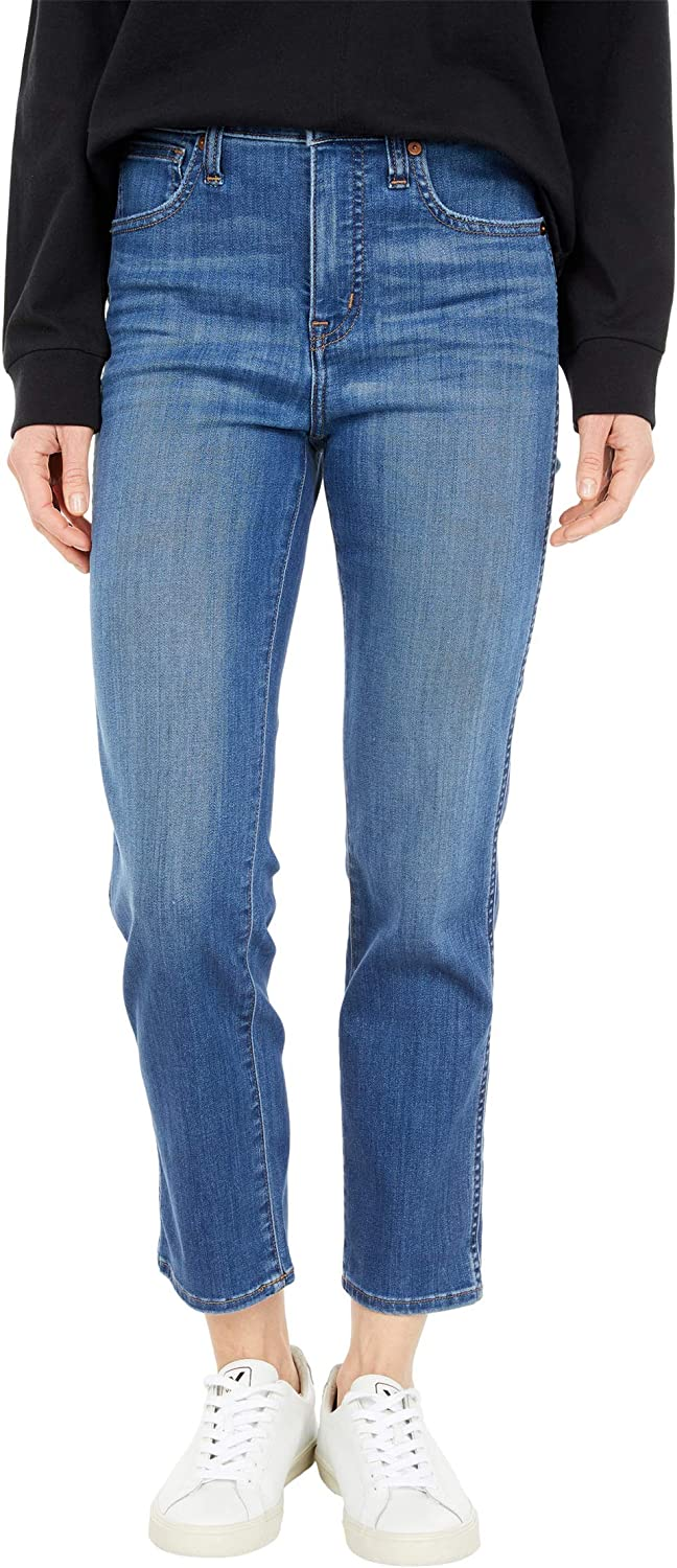 Madewell Stovepipe Jeans in Leman Wash