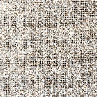 DESHOME Penelope - Tessuto al Metro Idrorepellente stoffa resistente per divani, cuscini, tappezzeria (Beige, 1 metro)