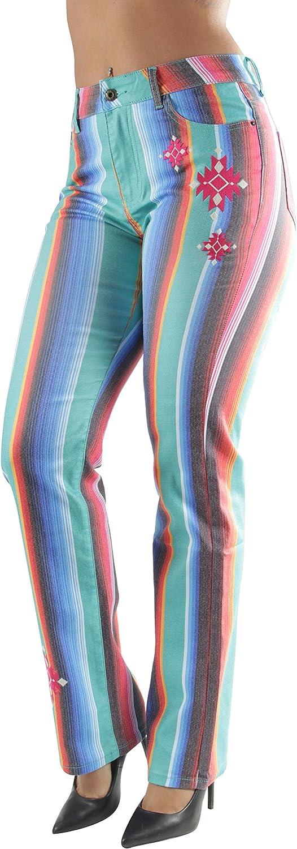 Women's Missy/Plus Size Bell Bottom High Waist Flared Bootleg Wide Fit Jeans