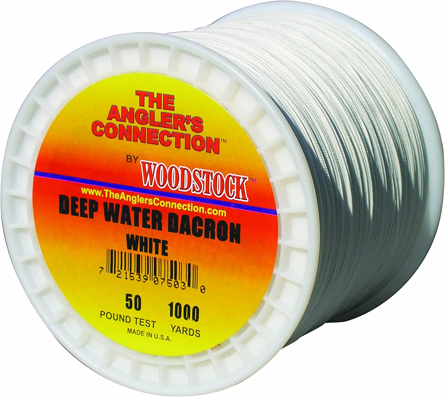 Woodstock Fishing Line Deep Water Dacron Fishing Line