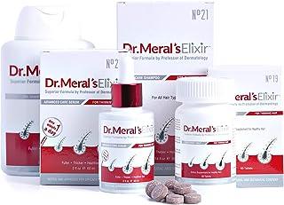 Dr. Meral's Elixir - Complete Hair Growth Kit: Hair Growth Serum, Hair Loss Shampoo, Biotin Supplement for Thinning Hair -...