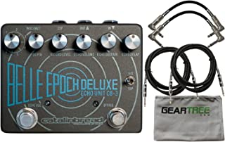 Catalinbread Belle Epoch Deluxe Delay Pedal w/Cloth and 4 Cables