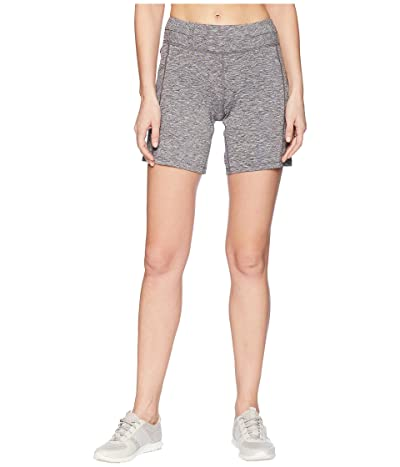 ASICS Knit 7 Shorts (Dark Grey Heather) Women