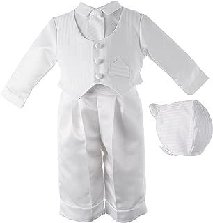Baby boy Christening Baptism Infant Satin Vest Set with Pant