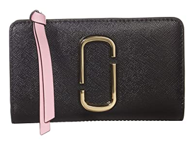 Marc Jacobs Snapshot Compact Wallet (New Black Multi) Wallet Handbags