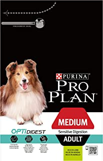 Proplan Dry Dog Food Adult Sensitive Digestion Dog Lamb, Brown, Medium - 14 Kg,12366972