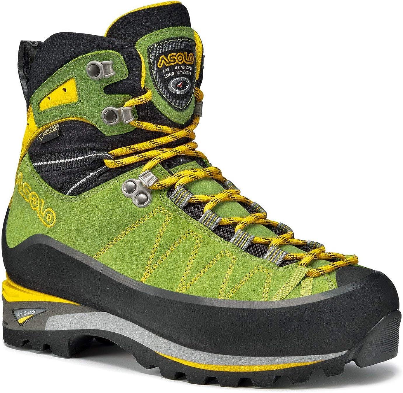 Asolo Women's Elbrus GV Climbing Boot & Knit Cap Bundle