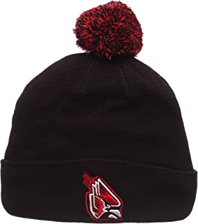 Zephyr Cuff Beanie Hat with POM POM - NCAA Cuffed Winter Knit Toque Cap