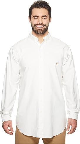52ddaf18 Polo Ralph Lauren. Stretch Fit Oxford Sport Shirt. $98.50. Big & Tall Oxford  Sportshirt