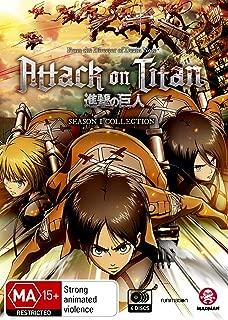 Attack on Titan Season 1 | Anime | NON-USA Format | PAL Region 4 Import - Australia