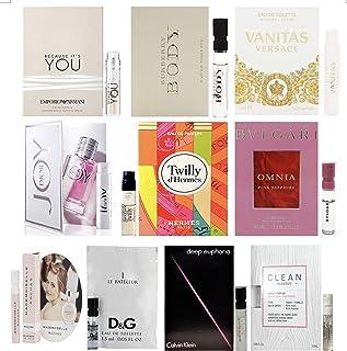 10 Women's Designer Fragrance Vial Sample with a Luxury Brand