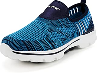 recorrer Repose Men's Blue Slip-on Casual Sneakers Shoes