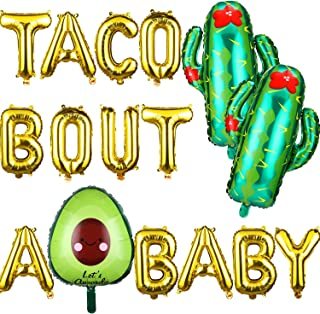taco bout a baby balloons