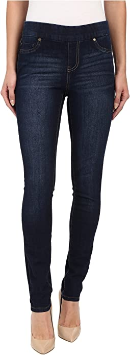 Liverpool Sienna Pull-On Contour 4-Way Stretch Super Skinny Jean Leggings in Corvus Dark