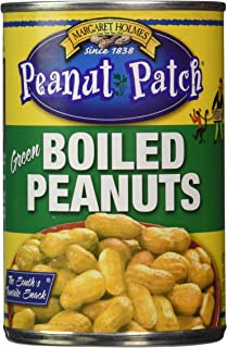 Margaret Holmes, Green Boiled Peanuts, 13.5oz Cans (Pack of 12)