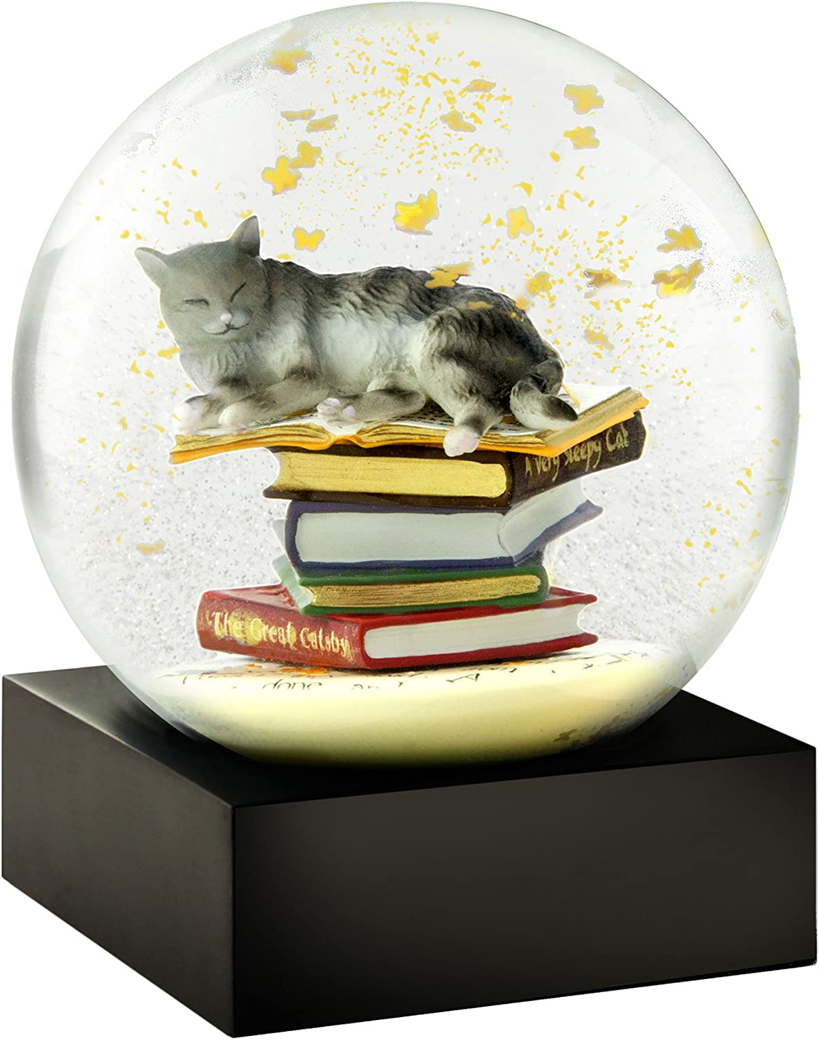Albuquerque San Diego Mall Mall Cat on Books Snow Globes CoolSnowGlobes by