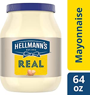 Hellmann's Mayonnaise, Real, 64 Ounce