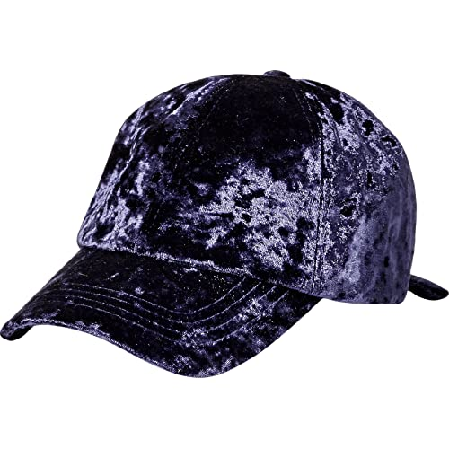 d9526341896 Orchid Row Women s Fashion Velvet Baseball Cap