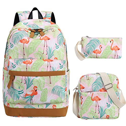 School Backpack Girls Bookbag set Cute School bags fit 15 inch Laptop for Teens Boys Kids