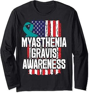 MG Gift - Teal Awareness Ribbon Long Sleeve T-Shirt