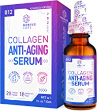 GENIUS Collagen Anti-Aging Serum, The Smart Anti Aging Serum for Face, Plumps, Firms, Corrects, Reduces Signs of Lines & W...